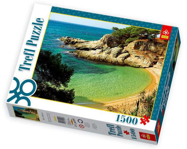 1500 dílků Tajemná zátoka - puzzle Trefl 26091