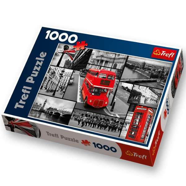 1000 dílků Londýn - koláž - puzzle Trefl 10278