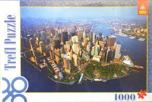 1000 dílků  New York  -  puzzle Trefl
