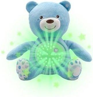 Chicco medvídek s projektorem a melodií modrý