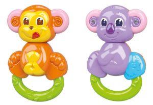 Clementoni Chrastítko 2 v 1 Opička - Koala