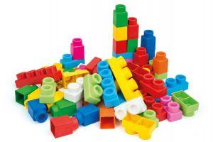 Clemmy Plus, stavebnice 60 dílků - v plastovém pytli Clementoni