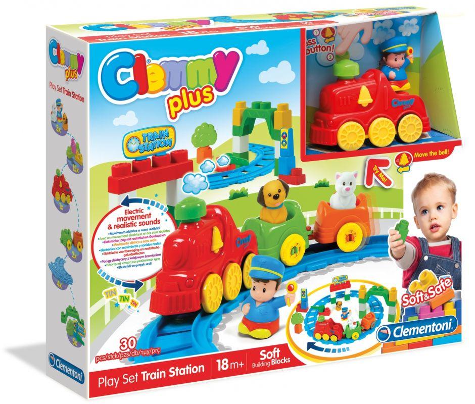 Clemmy Plus Vlakové nádraží Clementoni