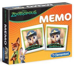Pexeso ( Memo ) Clementoni   -  Zootropolis