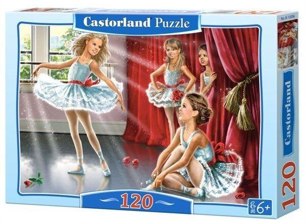 Puzzle Castorland 120 dílků - Baletní škola 13036