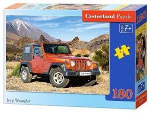 Puzzle Castorland 180 dílků - Jeep Wrangler   018017