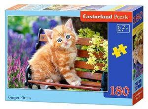 Puzzle Castorland 180 dílků - Rezavé koťátko  018178
