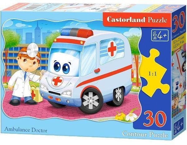 Puzzle Castorland 30 dílků - ambulance 03471