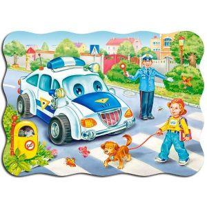 Puzzle Castorland 30 dílků - cesta do školy 03389