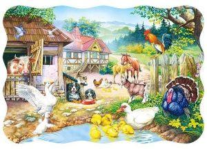 Puzzle Castorland  30 dílků - farma   03310