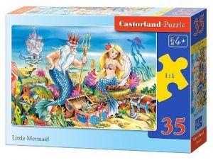 Puzzle Castorland 35 dílků - malá mořská víla  035052
