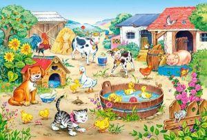 Puzzle Castorland 60 dílků - farma - 06663