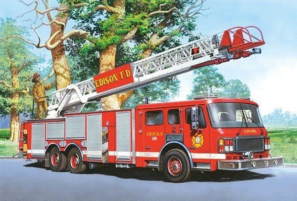 Puzzle Castorland 60 dílků - hasiči - 06595