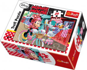 Puzzle mini 54 d - Trefl - Mickey Mouse 19473