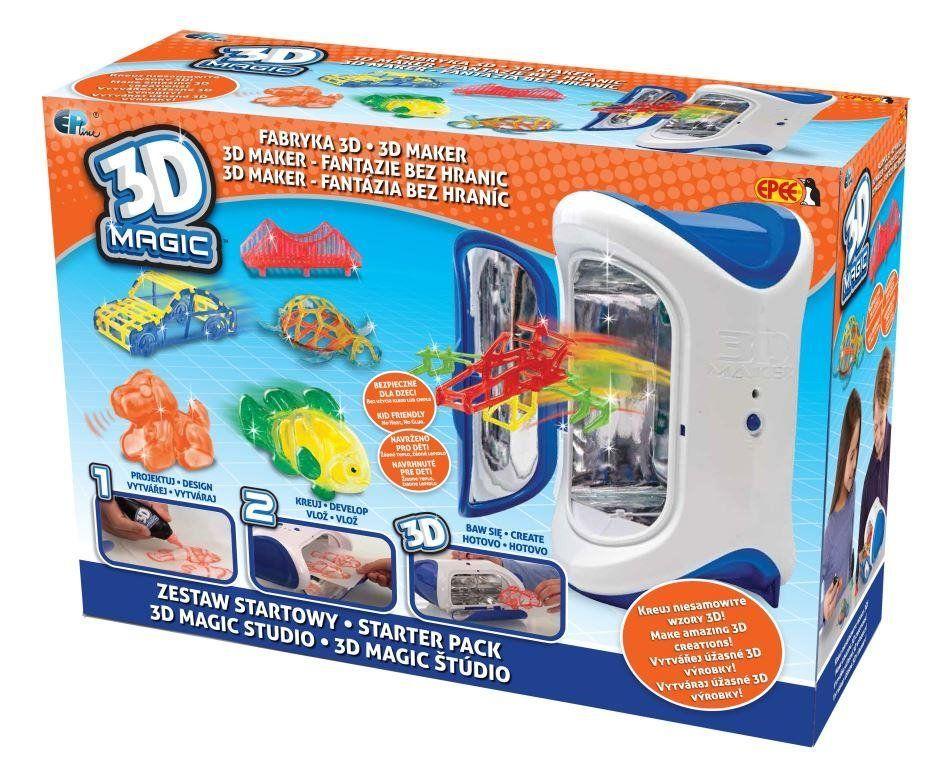 3D Magic starter sada Epee a EP Line