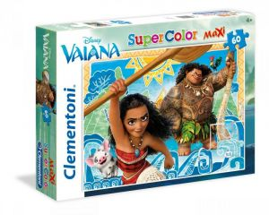 Puzzle Clementoni 60 dílků MAXI   -  Vaiana  26585