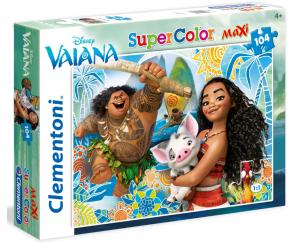 Puzzle Clementoni  104 dílků MAXI -  Vaiana   23979
