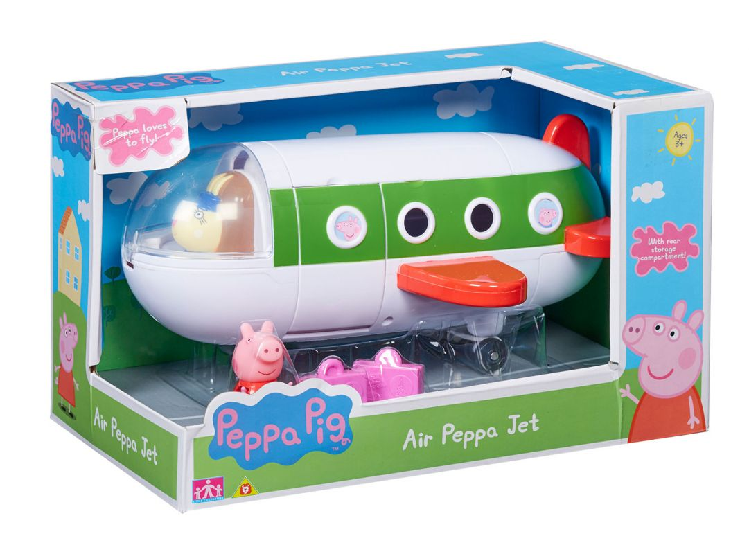 Prasátko PEPPA - letadlo