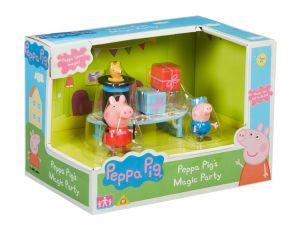 Prasátko PEPPA - playset - Magic party