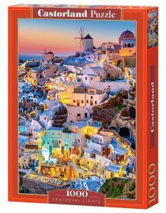Puzzle Castorland  1000 dílků -  Santorini v noci  103522