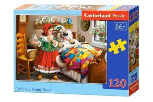 Puzzle Castorland 120 dílků - Červená Karkulka 12227
