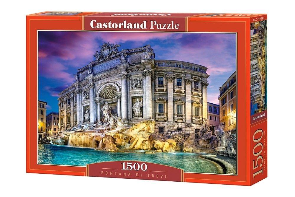 Puzzle Castorland 1500 dílků - Fontána di Trevi 151479