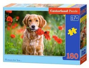 Puzzle Castorland 180 dílků - květiny pro tebe 018284