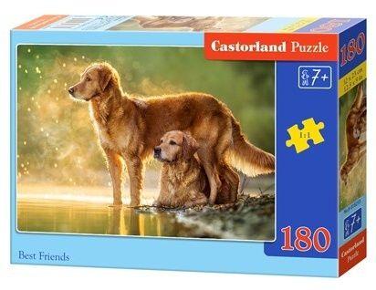Puzzle Castorland 180 dílků - nejlepší kamarádi 018253