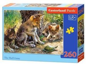 Puzzle Castorland 260 dílků - hra vlčat  27385