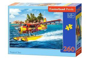 Puzzle Castorland 260 dílků - Hydroplán 27323