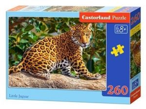Puzzle Castorland 260 dílků - malý jaguár  27392