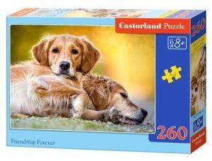 Puzzle Castorland 260 dílků - přátelství nade vše 27361