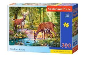 Puzzle Castorland 300 dílků - Lesní potok 030132