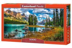 Puzzle  Castorland  4000 dílků - The Spirit Island  400188