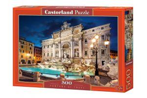 Puzzle Castorland 500 dílků - Fontána di Trevi  52332