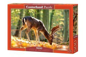 Puzzle Castorland 500 dílků -  Král lesa  52325