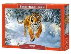 Puzzle Castorland 500 dílků -  sibiřský tygr 52400