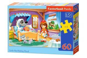 Puzzle Castorland 60 dílků - Červená Karkulka 06915