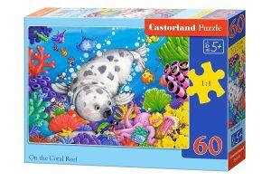 Puzzle Castorland 60 dílků - korálový útes 06892