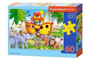 Puzzle Castorland 60 dílků - Noemova archa  06861