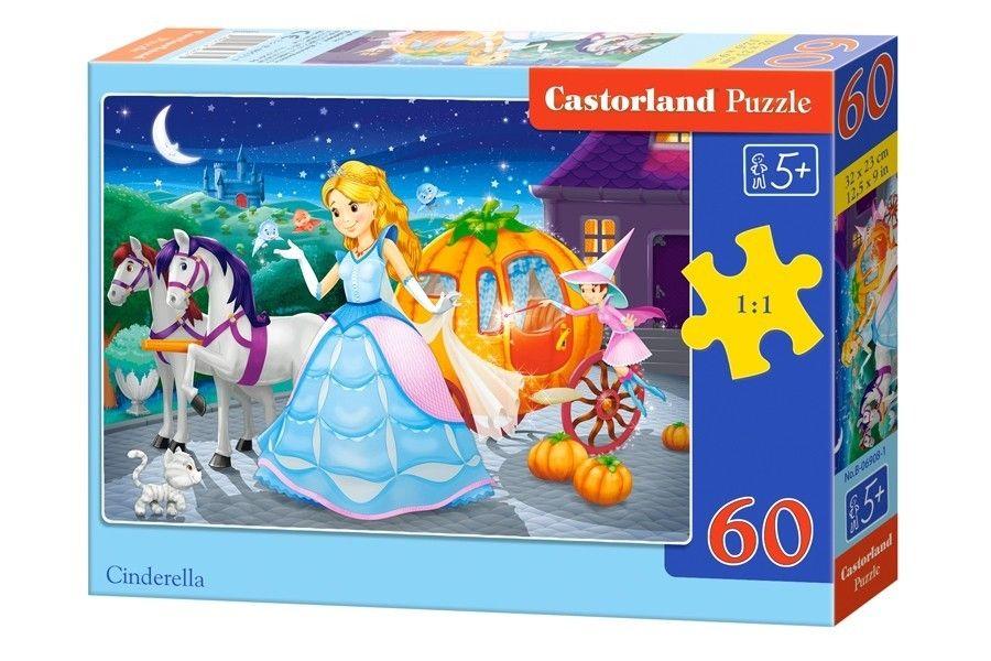 Puzzle Castorland 60 dílků - Popelka 06908