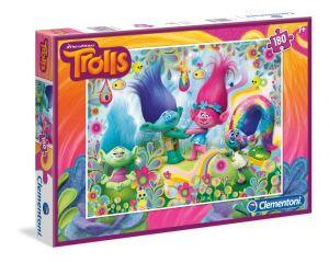 Puzzle Clementoni 180 dílků  - Trollové   - 07335