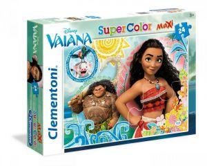 Puzzle Clementoni   24 dílků Maxi - Vaiana  24057