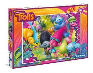 Puzzle Clementoni  MAXI  - 100 dílků  -  Trollové   07525
