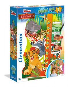 Clementoni Růstový metr 30 dílků Metr - Lví hlídka 20317