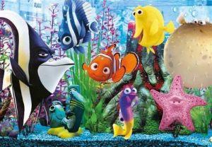 Deskové puzzle Clementoni - 15 dílků - Hledá se Nemo   - 22223b