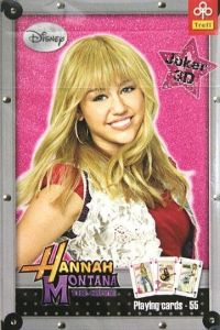 Hrací karty -  Hannah Montana - 55 karet