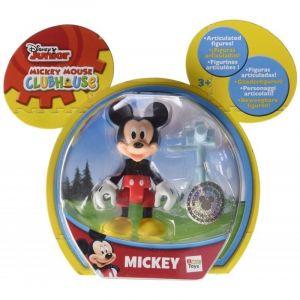 Kloubová figurka Mickey Mouse 8 cm s doplňky IMC toys