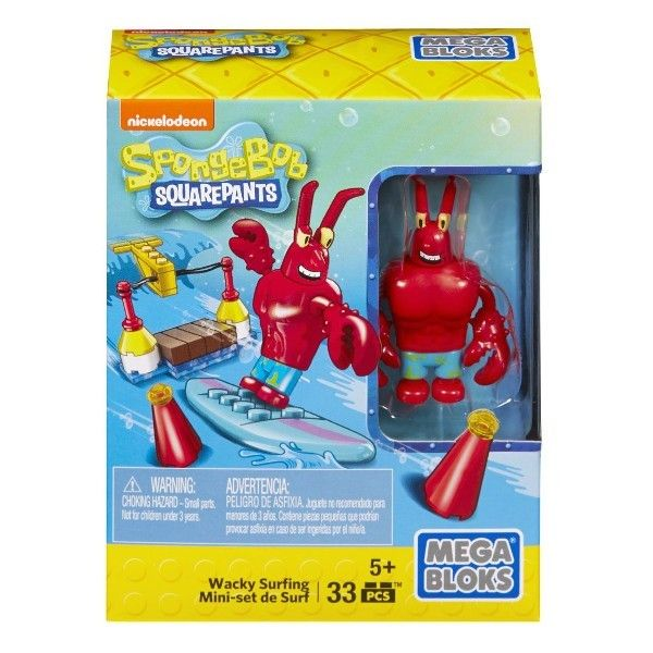 Mega Bloks Spongebob Squarepants - Wacky na surfu