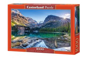 Puzzle Castorland  1000 dílků -  Jezero O´Hara Kanada   103638